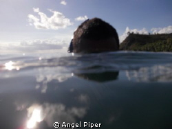 Cetti Bay Guam. Snorkeling around. by Angel Piper 